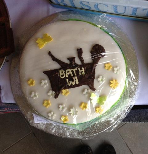Bath WI cake