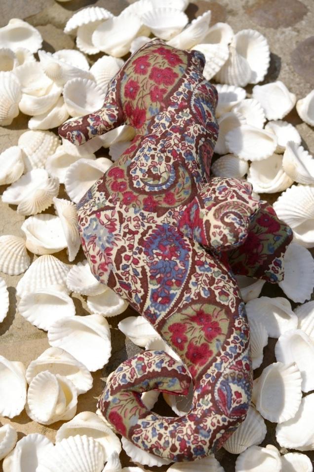 liberty lawn lavender seahorse