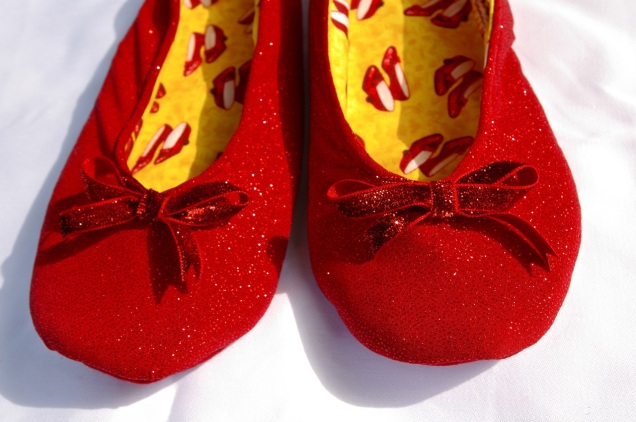 handmade ruby slippers