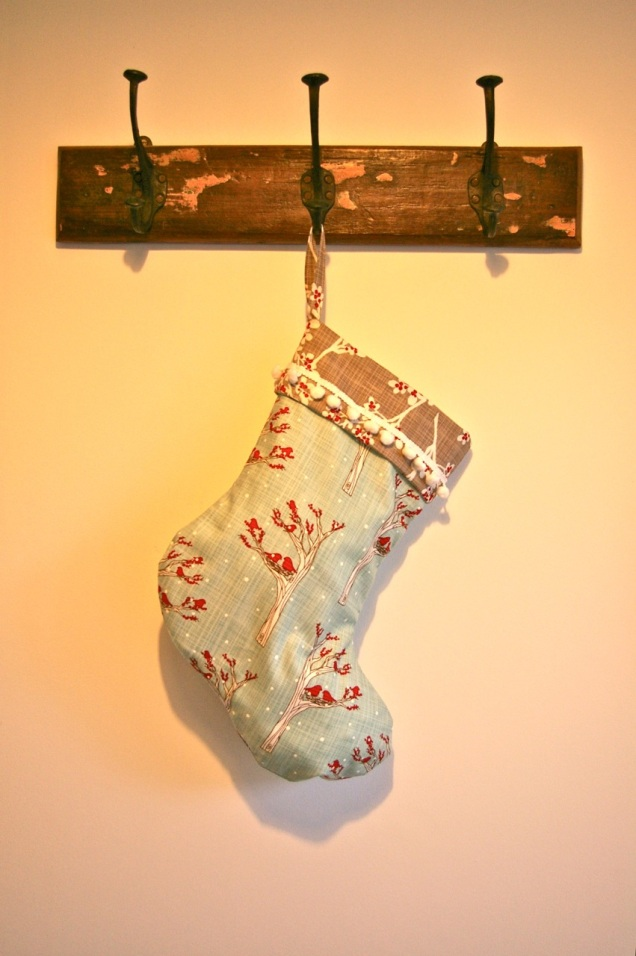 first Christmas stocking of the year