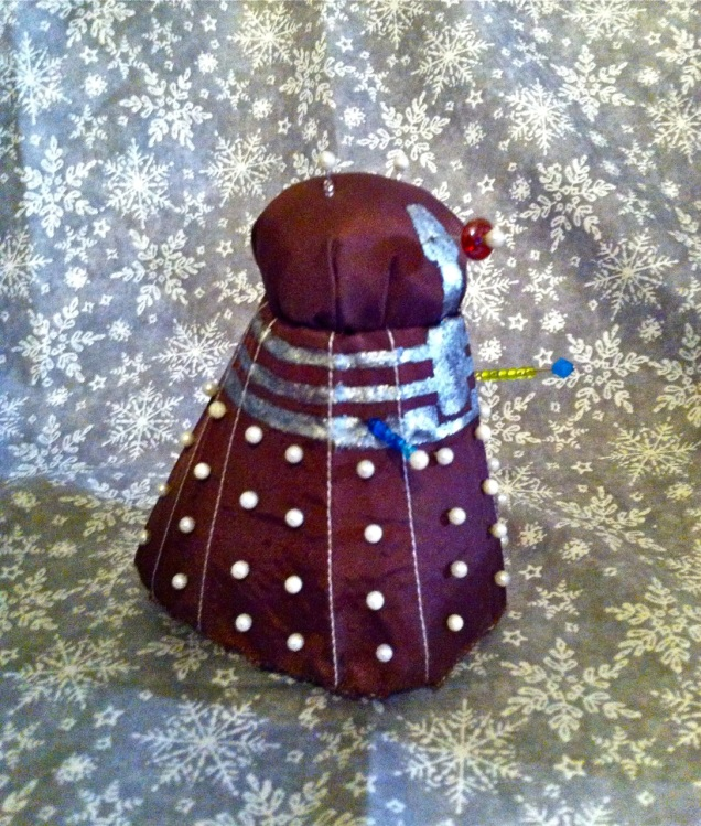 dalek pincushion