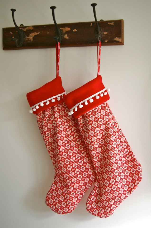 Skandi Christmas stocking