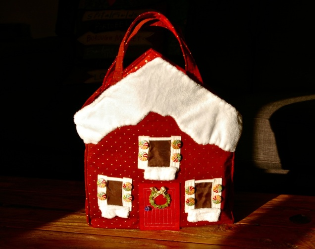 gingerbread house handbag