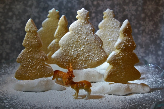 edible snow scene