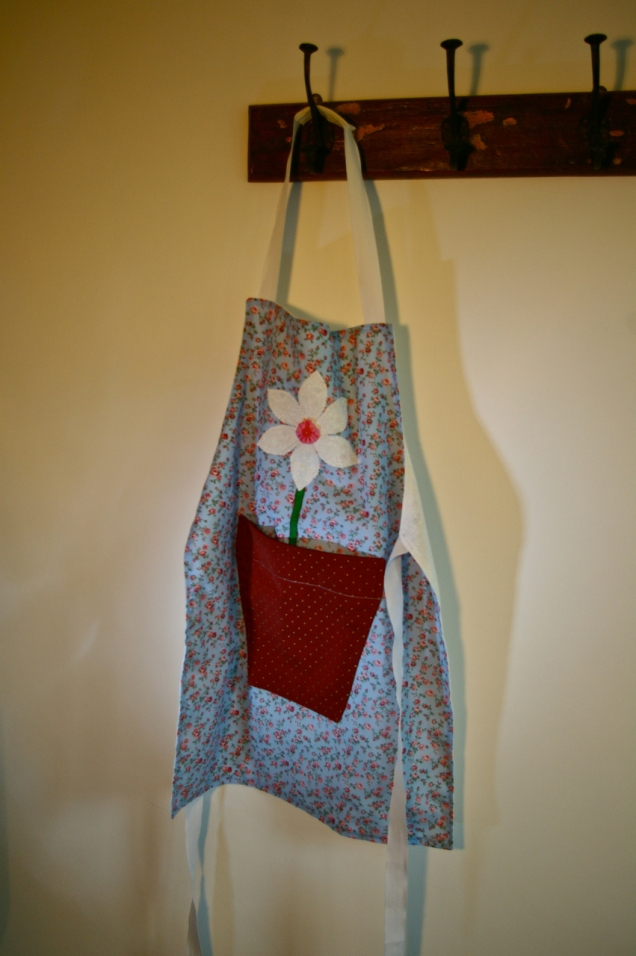 apron for young gardener