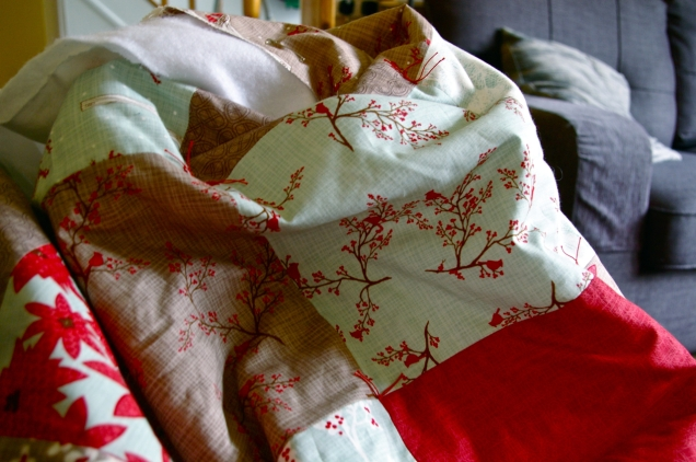 Moda 'Winter's Lane' quilt