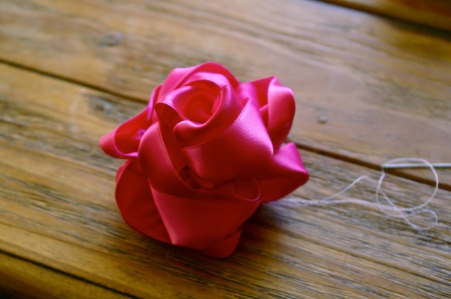 push out each petal so it looks more rose like