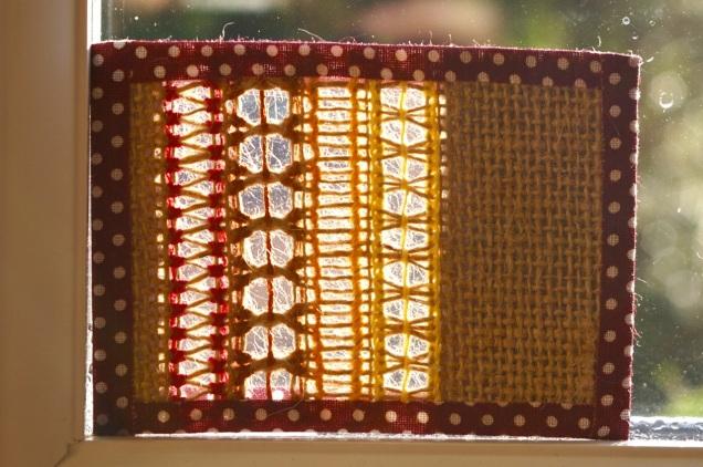 Stokes Croft Stitching ATC