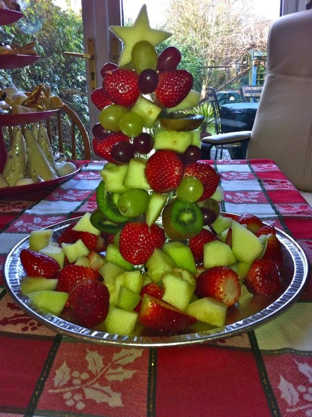 festive but healthy dessert