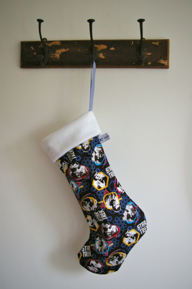 Star Trek stocking
