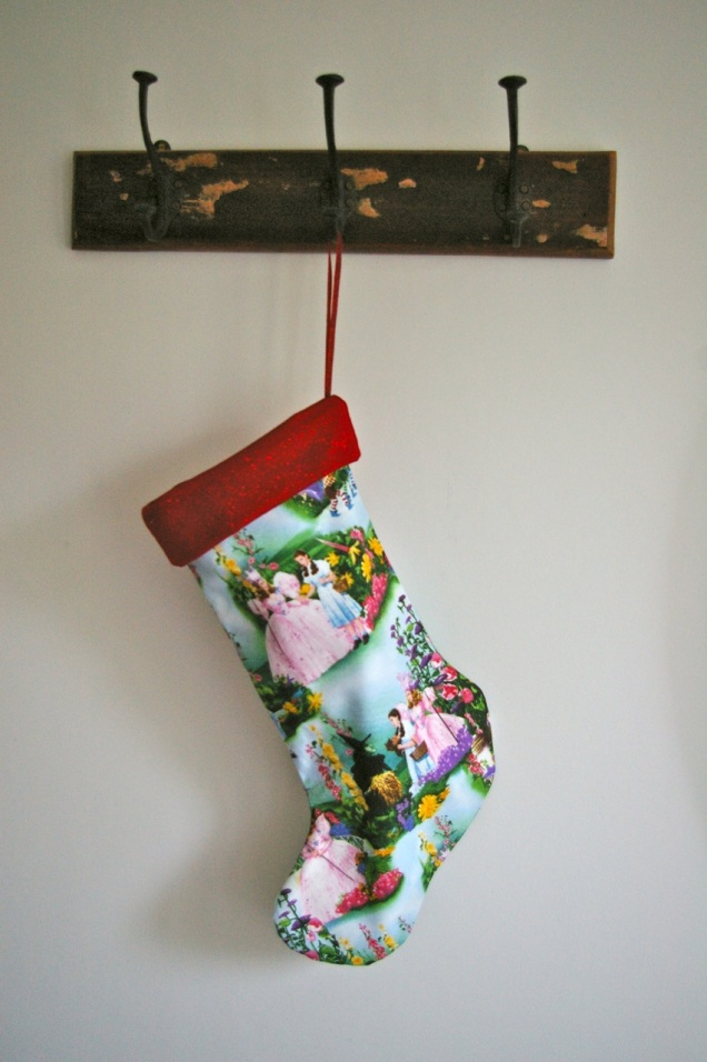 Wizard of Oz Christmas stocking