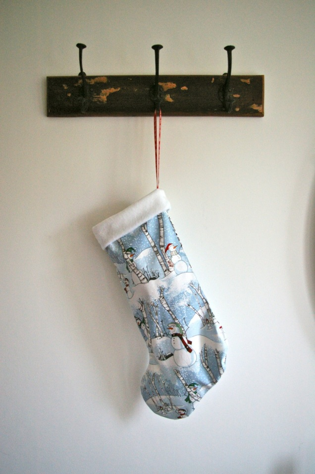 snowmen stocking