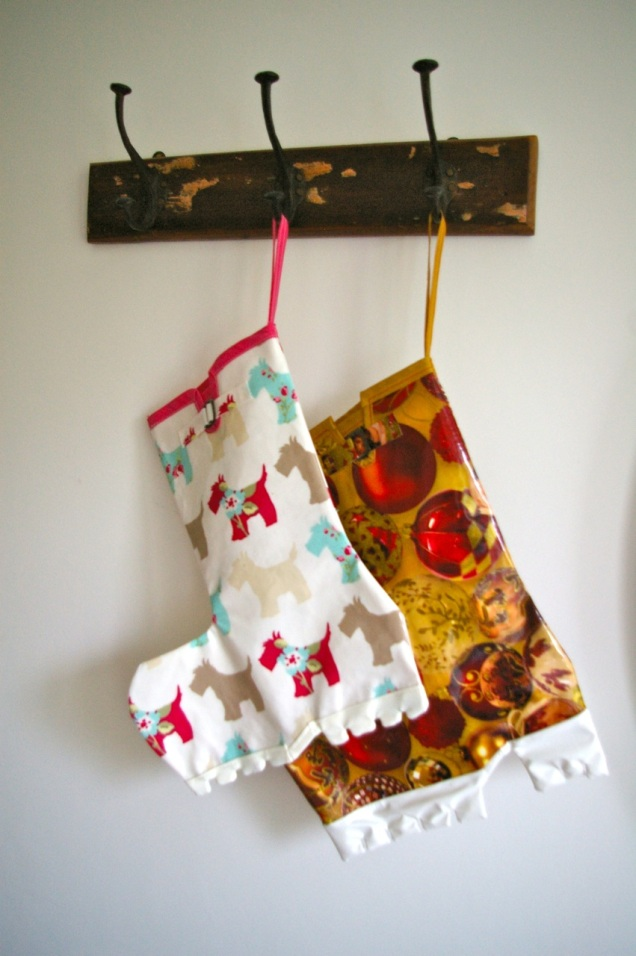 welly boot Christmas stockings