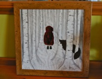 Little Red Riding Hood, framed