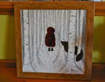 Little Red Riding Hood, framed