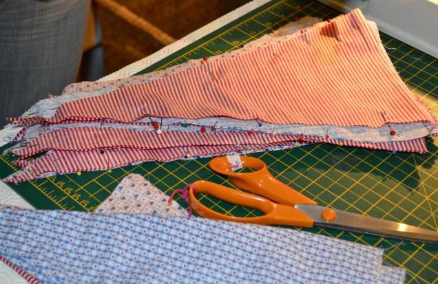 bunting making - 16