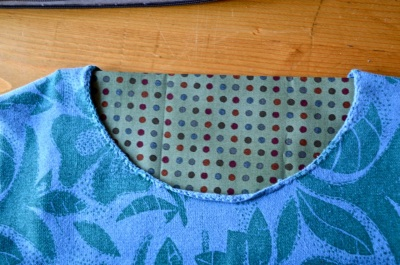 fill the neck hole with a piece of fabric